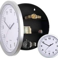828 Safe Clock - Brankas Unik Bentuk Jam Dinding