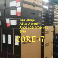 LAPTOP ASUS A442UF CORE i7. Mm 8gb hdd 1tb garansi resmi.