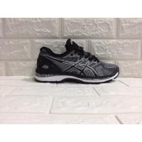 Sepatu Asics Nimbus 20 Running Black and Silver