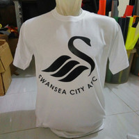 Tshirt Baju Kaos Keren Swansea city