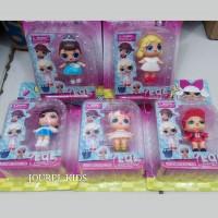 mainan anak perempuan cewek boneka figure baby lol surprise egg toys