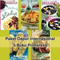 Paket Primarasa 5 Buku Dapur Internasional
