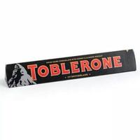 Coklat Toblerone Dark Chocolate (hitam) Almond 100 gram