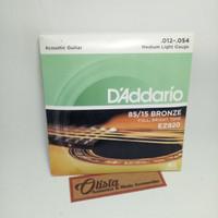 Senar Gitar Akustik D'addario 012 Bronze
