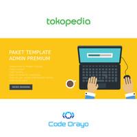 Paket Template Admin / Admin Dashboard Theme Premium