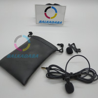 Mic Clip ON DELUXE Premium Quality With Jack 3,5mm TRRS