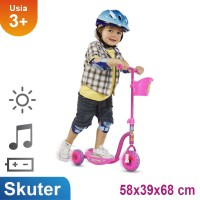 Ocean Toy PMB Skuter Roda Tiga - Pink