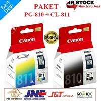 Catridge Canon 810 811 Black Color Ori 1 Set