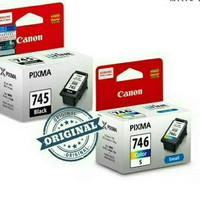 Catridge Canon 745S 746S Black Color Orin1 Set