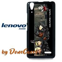 Casing Lenovo A6000 Gears Of War Cartoon Lego Hard Case Custom