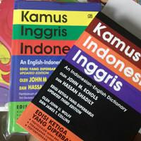 KAMUS INGGRIS - INDONESIA DAN INDONESIA - INGGRIS
