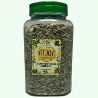 Organik Raw Sunflower Seed 1 KG (IN JAR) Kuaci kupas 1000 Gram
