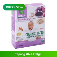 GASOL Organik Tepung Ubi 200Gr / 200 Gr / Makanan Bayi