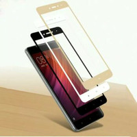 Tempered glass full warna iphone x iphone 8 plus anti gores kaca