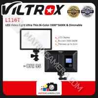 Viltrox L116T / L 116T LED Video Light Ultra Thin Bi-Color 3300K~5600K