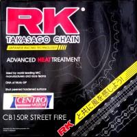 GEAR SET+RANTAI RK TAKASAGO-CB150R STREET FIRE