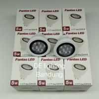 Bohlam lampu sorot Led Fantas GU 10 - 5 watt warm white
