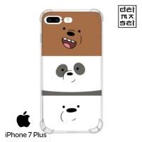We Bare Bears Cute 03 Casing Iphone 7 Plus Anti Crack Anticrack Case