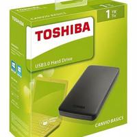 HD / Hard Drive / Hardisk Eksternal Toshiba 1TB, 2,5inc, USB 3.0