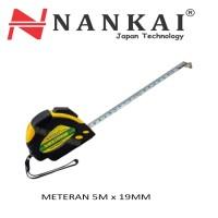 Nankai Perkakas Meteran Karet 5 Meter X 19Mm High Quality