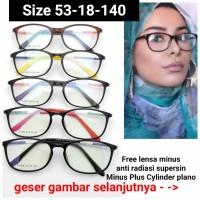 Frame Kacamata 908 kacamata Cewek Kacamata Hijab