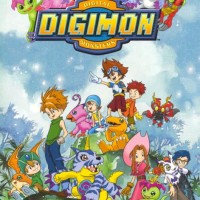 Kaset DVD Film Anime Digimon Adventure series