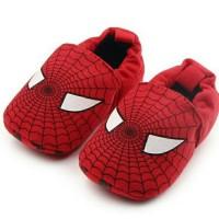 sepatu bayi anak lucu Sepatu Bayi Spiderman Prewalker Shoes Karakter