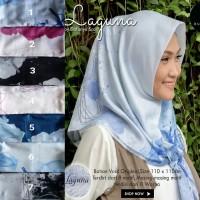 Segiempat Motif Kacamata Sepeda. Jilbab Dafanya. Kerudung Voal. Hijab
