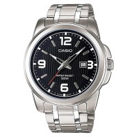 Casio Standard MTP-1314D-1AVDF - Enticer Series - Gents - Stainless