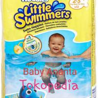 Huggies Little Swimmers Swimmer size 2-3 XS Swim Diaper Popok Renang