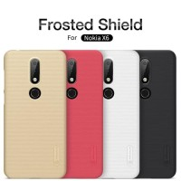 Nillkin Hard Case (Super Frosted Shield) - Nokia X6 / Nokia 6.1 Plus - Hitam