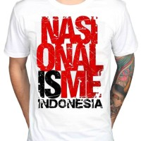 Kaos Oblong Distro Nasionalisme Indonesia I Love Indonesia Series