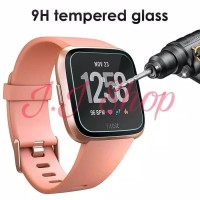 Fitbit Versa Tempered Glass Anti Gores Kaca Smartwatch