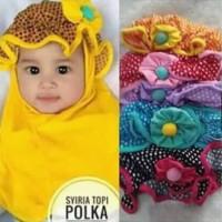 Jilbab Anak Hijab Baby Polca