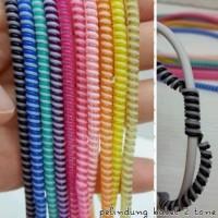 Pelindung Kabel 2 warna / 2 tone / Cord Cable protector / spiral