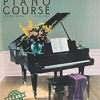 Buku Piano Pemula Dewasa Alfred Basic Piano Lesson for Adult Level 2