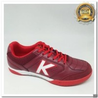 [KS] sepatu futsal kelme land precision burgundy red 2018