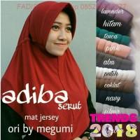 (1 kg = 11 pcs) Jilbab Instan Adiba Serut Jokowi / Hijab Instan Serut
