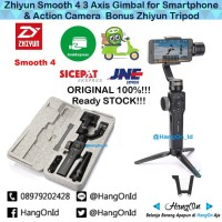 Zhiyun Smooth 4 3Axis Gimbal for Smartphone Handheld Stabilizer