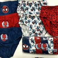 Celana Dalam Ridges Spiderman Isi 6 Size M