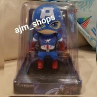 Boneka solar dashboard captain america avenger good quality limited