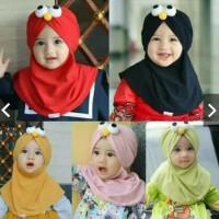 Jilbab Anak Hijab Baby Elmo