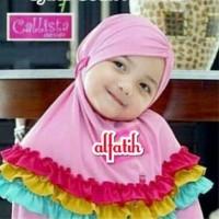 Jilbab Anak Hijab Baby Rainbow