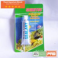 LEM KACA AQUARIUM Silicone Rubber Adhesive 30gr Berkualitas Tinggi PA