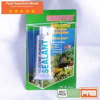 Lem Silicone Lem Rubber Lem Sealant Shimitsu Adhesive 70gr Aquarium