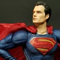 Mafex Justice League Superman Man of Steel Figure