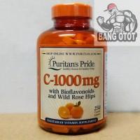 Puritans Pride Vitamin C-1000mg C1000 C 1000 mg 250 Caplets 250Caps