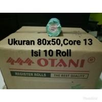 Kertas Struk Thermal isi 10roll 80x50, Core 13 Merk Otani