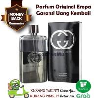 Parfum Original Pria ASLI Eropa Gucci Guilty For Men Parfume Man Ori
