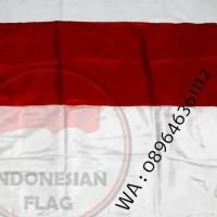 bendera merah putih 1,5 meter kualitas bahan fillament termurah